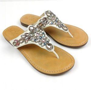 Brighton Beaded Anju Thong Sandals size 7